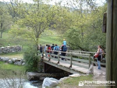 Rascafria, El Paular, Cascadas del Purgatorio, Las Presillas; turismo activo madrid; escapadas por m